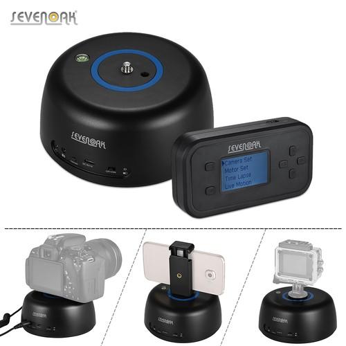 Sevenoak社・SK-EBH04・スマートフォン、GoPro、DSLR用 電動ボールヘッド。ワイヤレスコントロール可