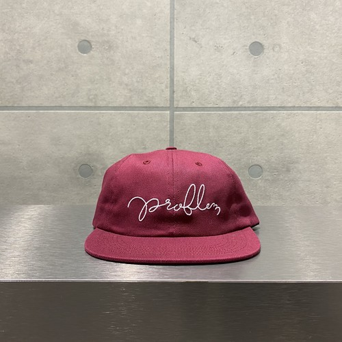 NOTHIN'SPECIAL PROBLEM 6-PANEL CAP / RUBY