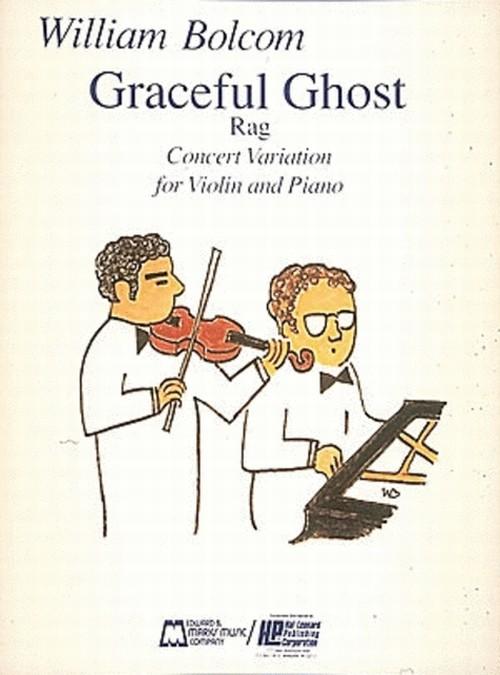 ボルコム:グレイスフル・ゴースト・ラグ / ヴァイオリン・ピアノ