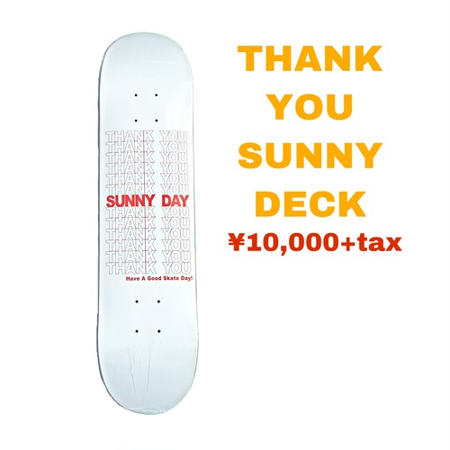S37 THANK YOU SUNNY DECK