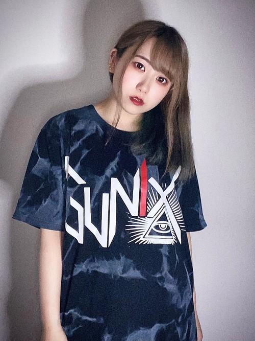 GUNIX T-SHIRTS限定タイダイカラー 黒白