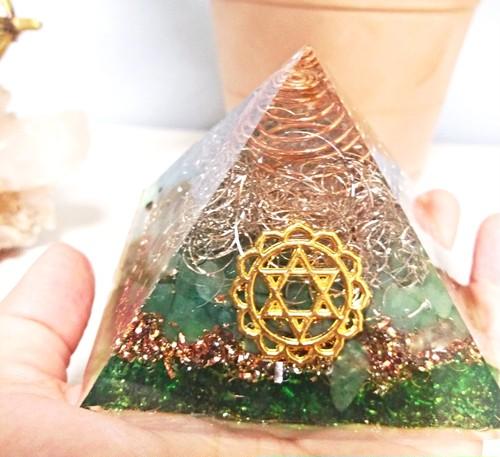 3月21日(水)UOAオルゴナイト中級講座【ピラミッド】