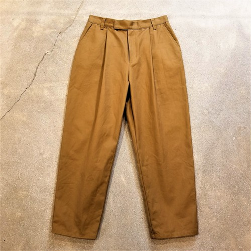 PREIN  Chino tuck pants /Made In JAPAN [P-21]