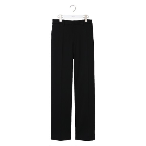 Slim Tapered Slacks -BLACK- / NEON SIGN