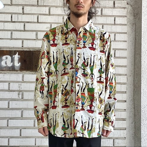 OLD COTTON L/S SHIRTS