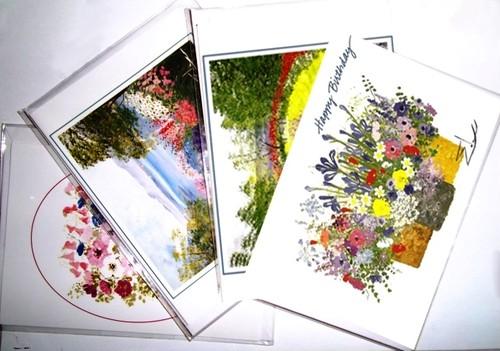 イーダ・バリッキオSPECIALグリーティングカード4枚セット (メール便配送)