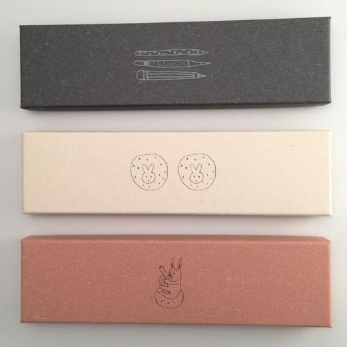 紙製品 ペンシルボックスセット