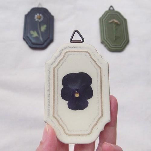 【セット】gakusou 押し花壁飾り×3