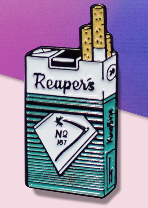 "Data CREW""""REAPERS CIG"" PIN"""
