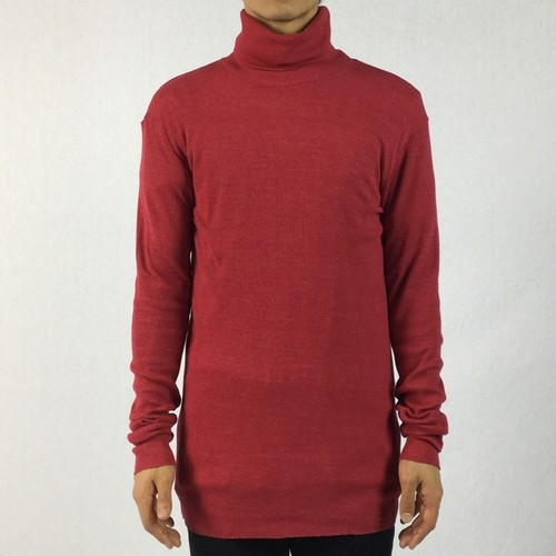 【AG by EXPERIMENT】TURTLE NECK  L/S Red