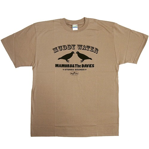 MUDDY WATER Tシャツ (ベージュ)