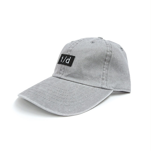 THURSDAY - t/d PIGMENT DYED CAP (Grey)