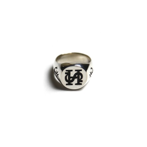 STEADY HIGH/ステディハイ SH monogram signet ring