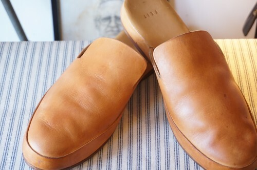 FEIT leather slip-on Shoes
