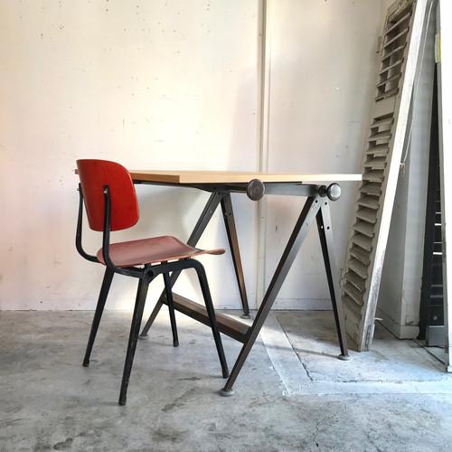 "Drafting Table ""Wim Rietveld & Friso Kramer"" Ahrend de Cirkel 1960's chocolate BRN  B"