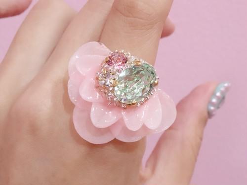 【リング.8】phantomFLOWER crystal