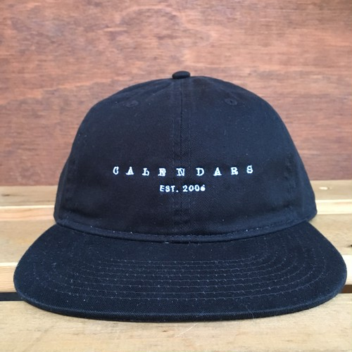 CALENDARS FLAT VISOR CAP(3 COLORS)