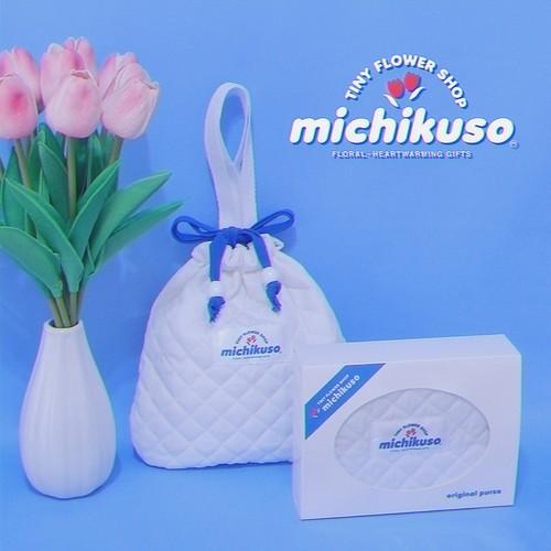 tiny flower shop michikuso bag (ホワイト)