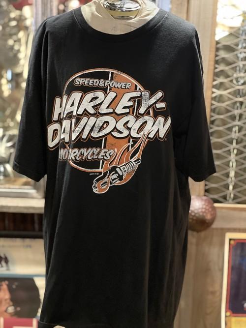 ハーレー  ダビッドソン tシャツ harley テネシー プラグ アメリカ USA