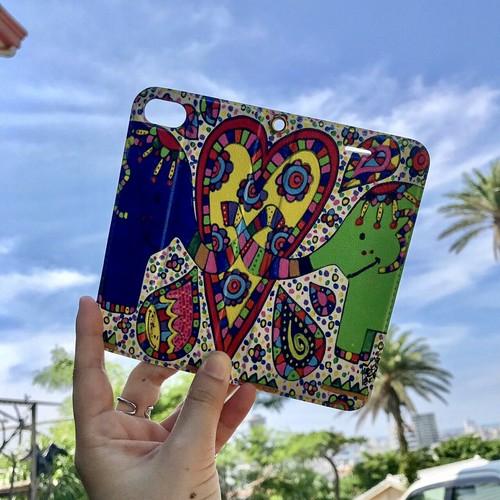 Love elephant iphone ケース