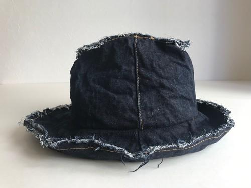 Circle original hat「クラッシュデニムHAT」