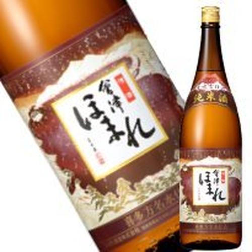 会津ほまれ/會津ほまれ 華吹雪仕込 純米酒  1.8L [日本酒/福島銘酒/喜多方の名水仕込み/ほまれ酒造/専用化粧箱なし]