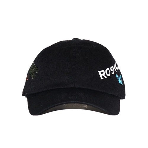 ROGIC × STUDIO33 Embroidery Cap BLACK