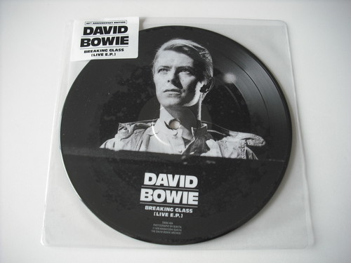 """【7""""】DAVID BOWIE / BREAKING GLASS (LIVE EP)"""