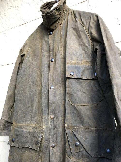 2 crest Barbour SOLWAY ZIPPER waxed jacket