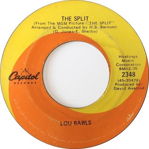 Lou Rawls – The Split / Why Can't I Speak
