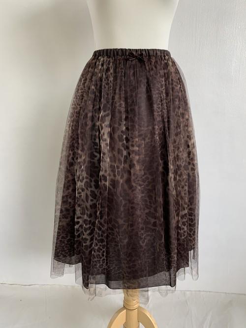 Bilitis dix-sept ans     Leopard Tutu Skirt (72cm)