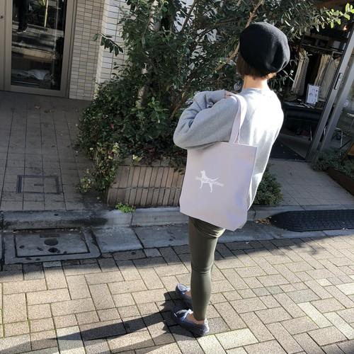 ー 再入荷2月上旬 ー 犬ロゴキャンバストートバッグ