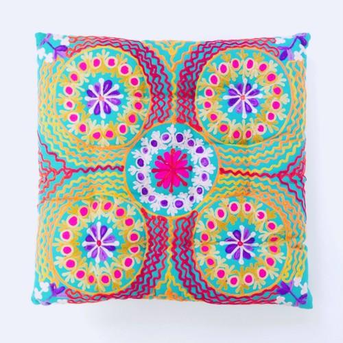 Cushion   turquoise