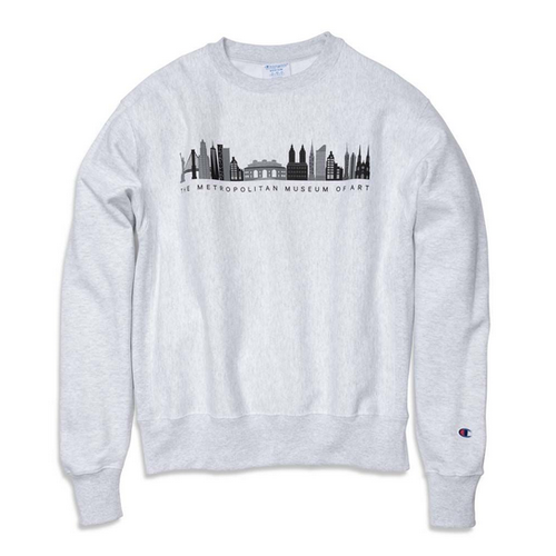 The MET x Champion Met Cityscape Crew Neck Sweatshirt