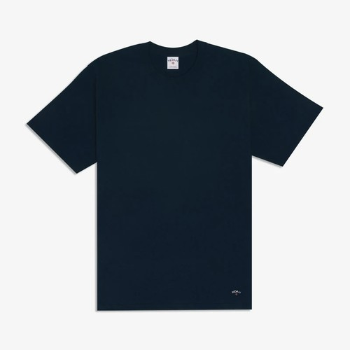 Recycled Cotton Tee(Navy)