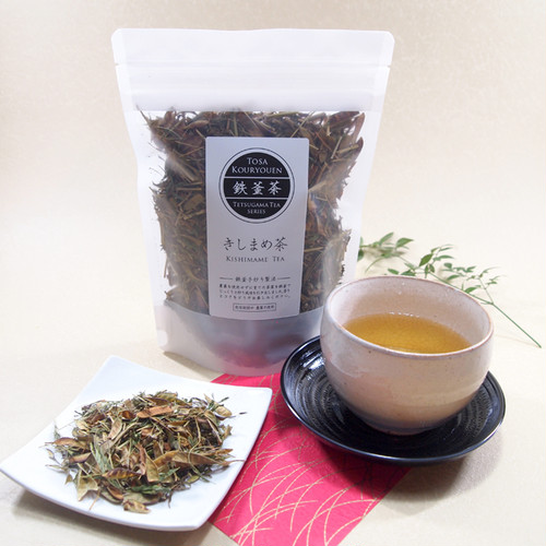 鉄釜茶 きしまめ茶【茶葉・60グラム】