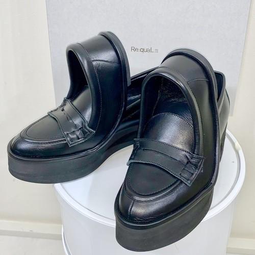 Re:quaL≡ リコール W shape loafer ダブル シェイプ ローファー シューズ メンズ レディース