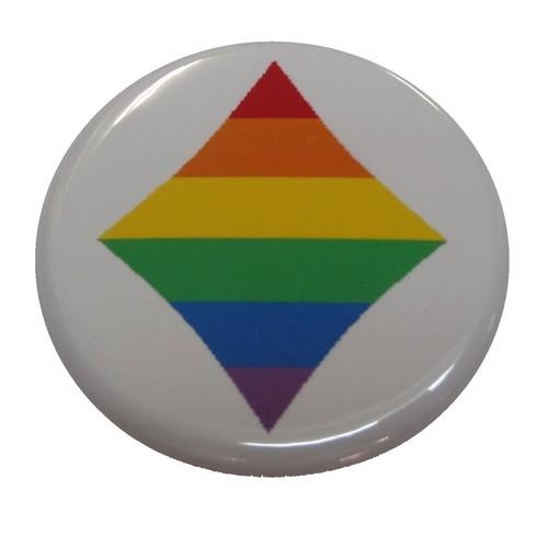 【NEW!!】オリジナル缶バッジ〈レインボーダイヤ/Rainbow Diamond〉