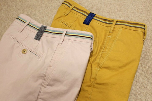 MMX Stretch Shorts  Pale-pink & Yellow