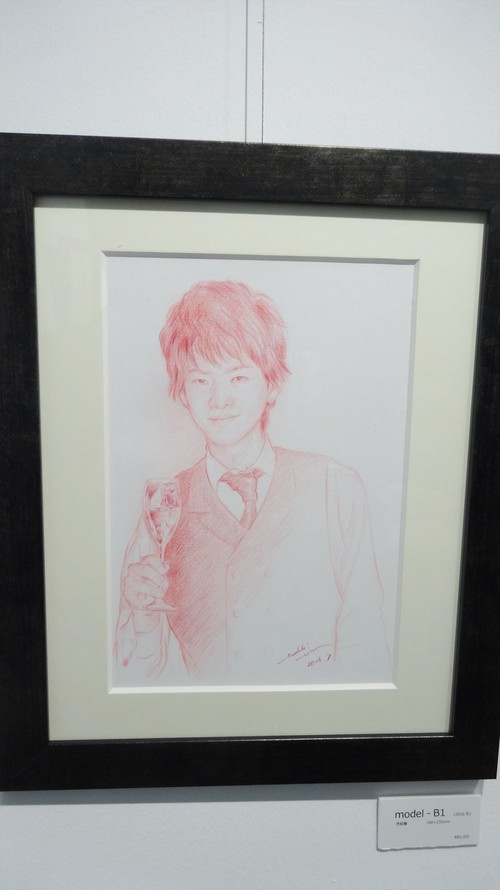 絵画「model‐B1」(2016年)