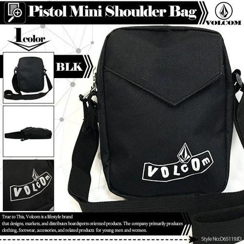 D65119JD ボルコム ショルダーバッグ 人気 ブランド おすすめ 旅行 入学 就職 プレゼント ギフト ミニバッグ VOLCOM Pistol Mini Shoulder Bag