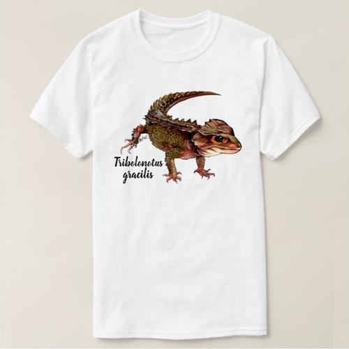 アカメカブトトカゲTシャツ