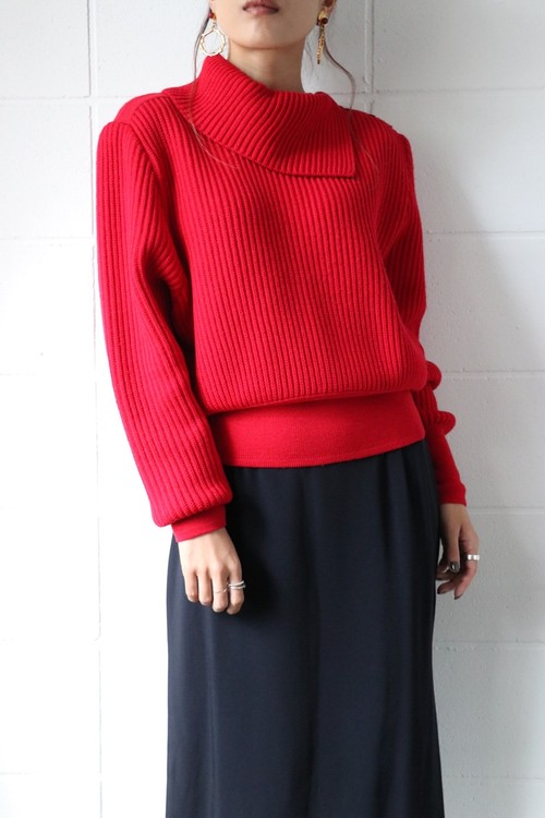 Alaia red sweater