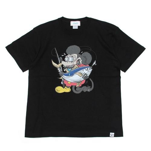 【Seamania】Crazy TUNA Tシャツ [BLK]