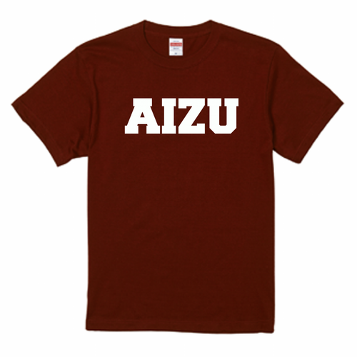 AIZU-Tシャツ BASIC/バーガンディ