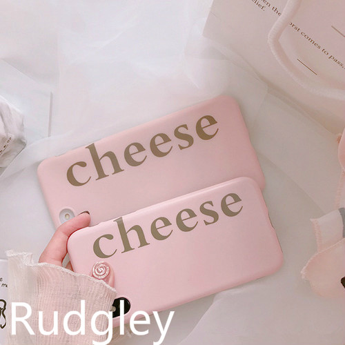 「cheese」 iphone case
