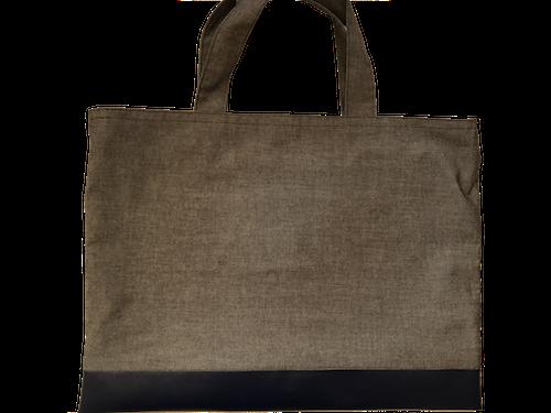 紺色ダンガリーレッスンバッグ(サイズ変更可能)