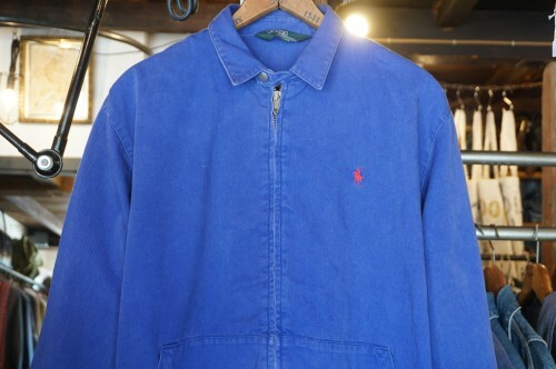 70's POLO Ralph Lauren boy's zip-up cotton Jacket