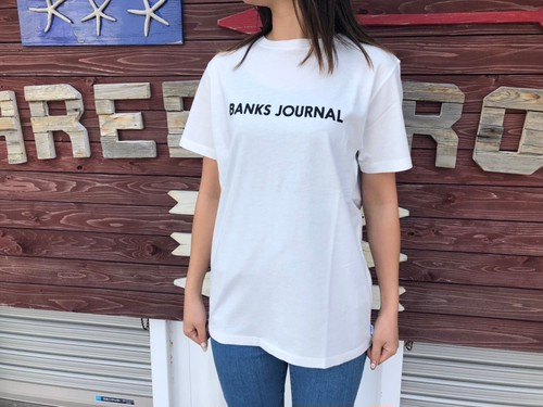 【Ladies】BANKS JOURNAL Tシャツ (off-white)
