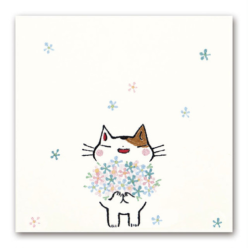 シイング 吹出しぽち 花束ネコ